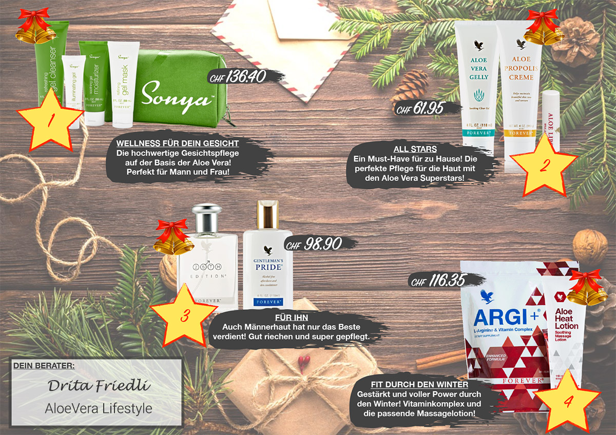 Ideen Weihnachtsgeschenke gesund und natürlich